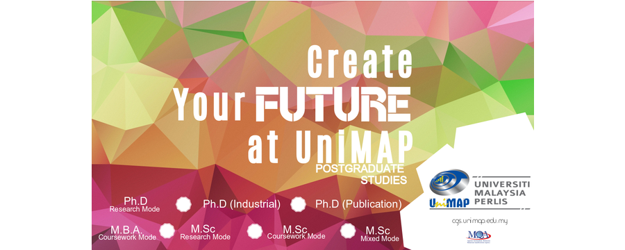 UniMAP Postgrad Online Application System