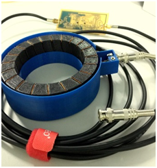 Rogowski Coil Sensor using ABS Material for Smart Online Partial Discharge Location Technique